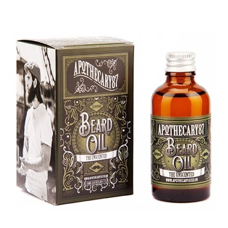 Apothecary87 - Olio da Barba The Unscented 50ml.