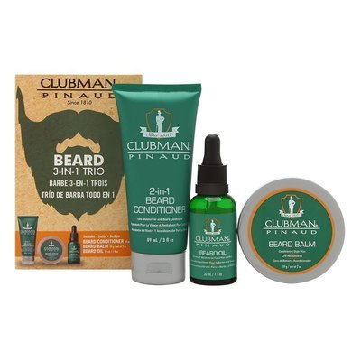 Clubman Pinaud - Beard 3 in 1 Trio