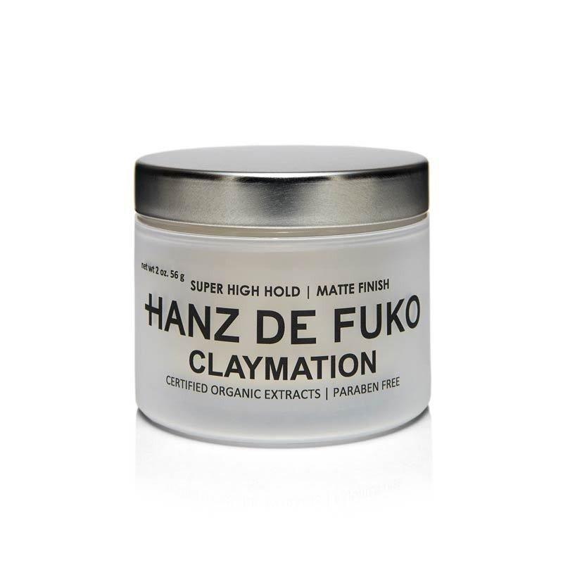 Hanz De Fuko - Claymation - Cera per Capelli Matte tenuta Forte 56gr.