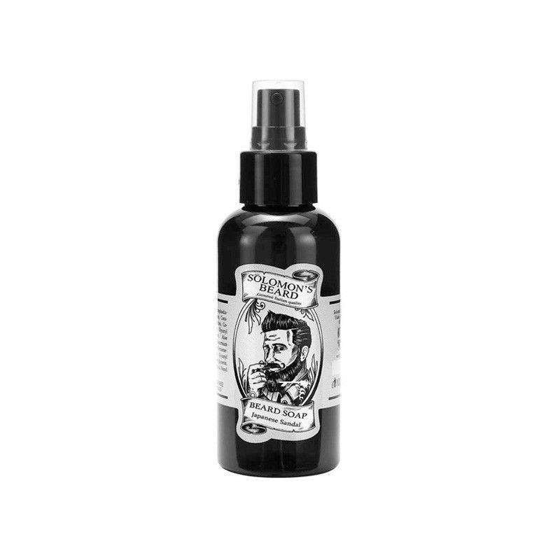 Solomon's Beard - Shampoo per barba Sandalo giapponese