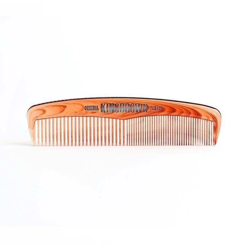 King Brown - Pettine per capelli da viaggio