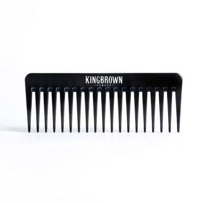 King Brown - Pettine a denti larghi per capelli lunghi