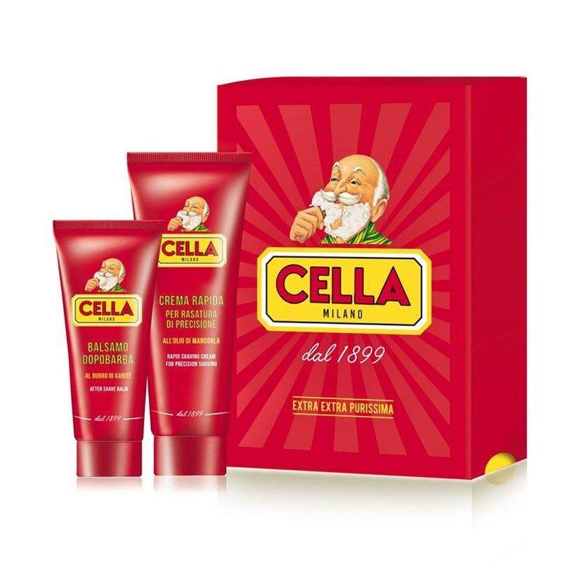 Cella - Kit Crema da Rasatura +Balsamo dopobarba