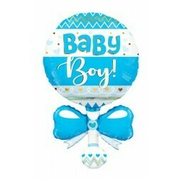 Baby Rattle blue