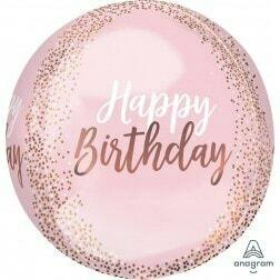 Blush Happy Birthday