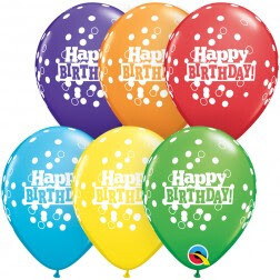 Happy Birthday Rainbow Confetti