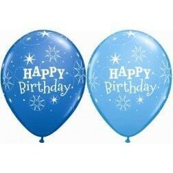 Happy Birthday Blue & Robin's Egg Blue