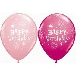 Happy Birthday Berry & Pink