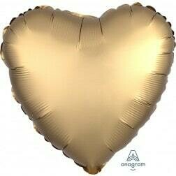 Heart - Satin Gold
