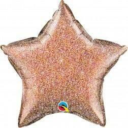 Star - Glitter Rose Gold