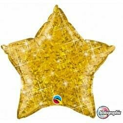 Star- Glitter Gold