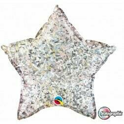 Star - Glitter Silver