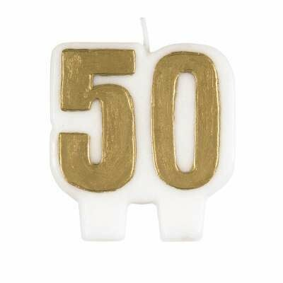 Candle - Number 50