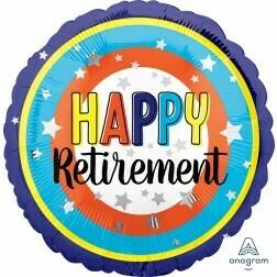 Happy Retirement colourful
