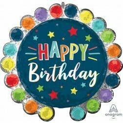 Happy Birthday Circle Dot