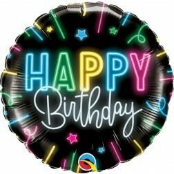 Happy Birthday- Neon