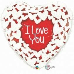 Heart Jumbo Red Love You
