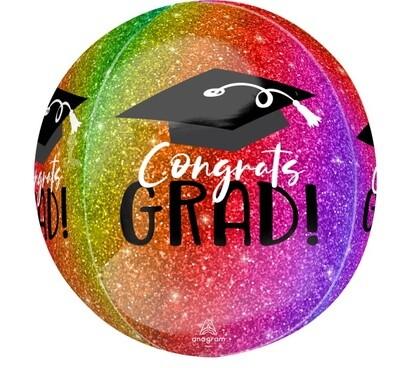 Congrats Grad - Colourful