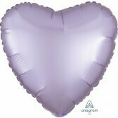 Heart - Lilac Satin