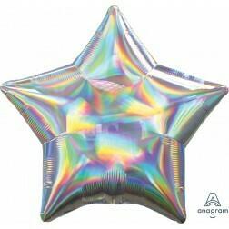 Star - Silver Iridescent