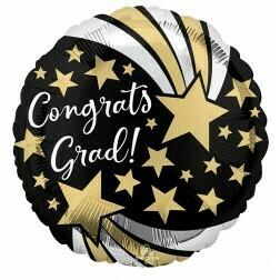 Congrats Grad - Black