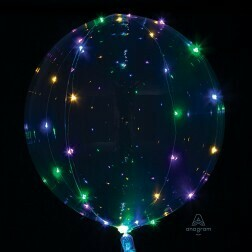 LED Light Multi colour Clear Balloon