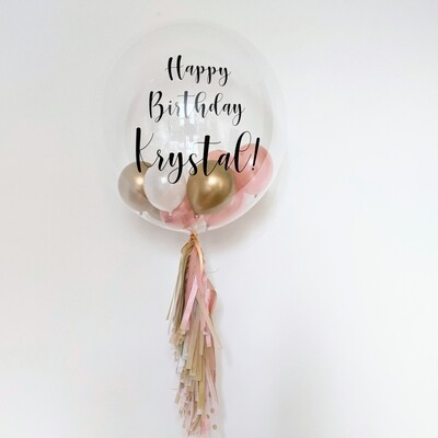 Personalise Bubble Balloon