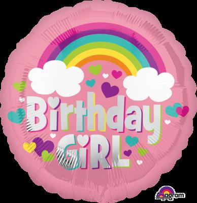 Birthday Girl Rainbow