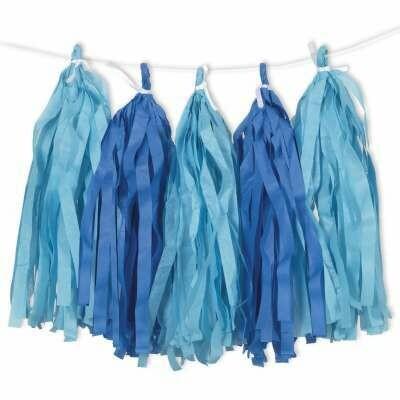 Tassel - Blue