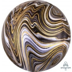 Marble Black and Gold