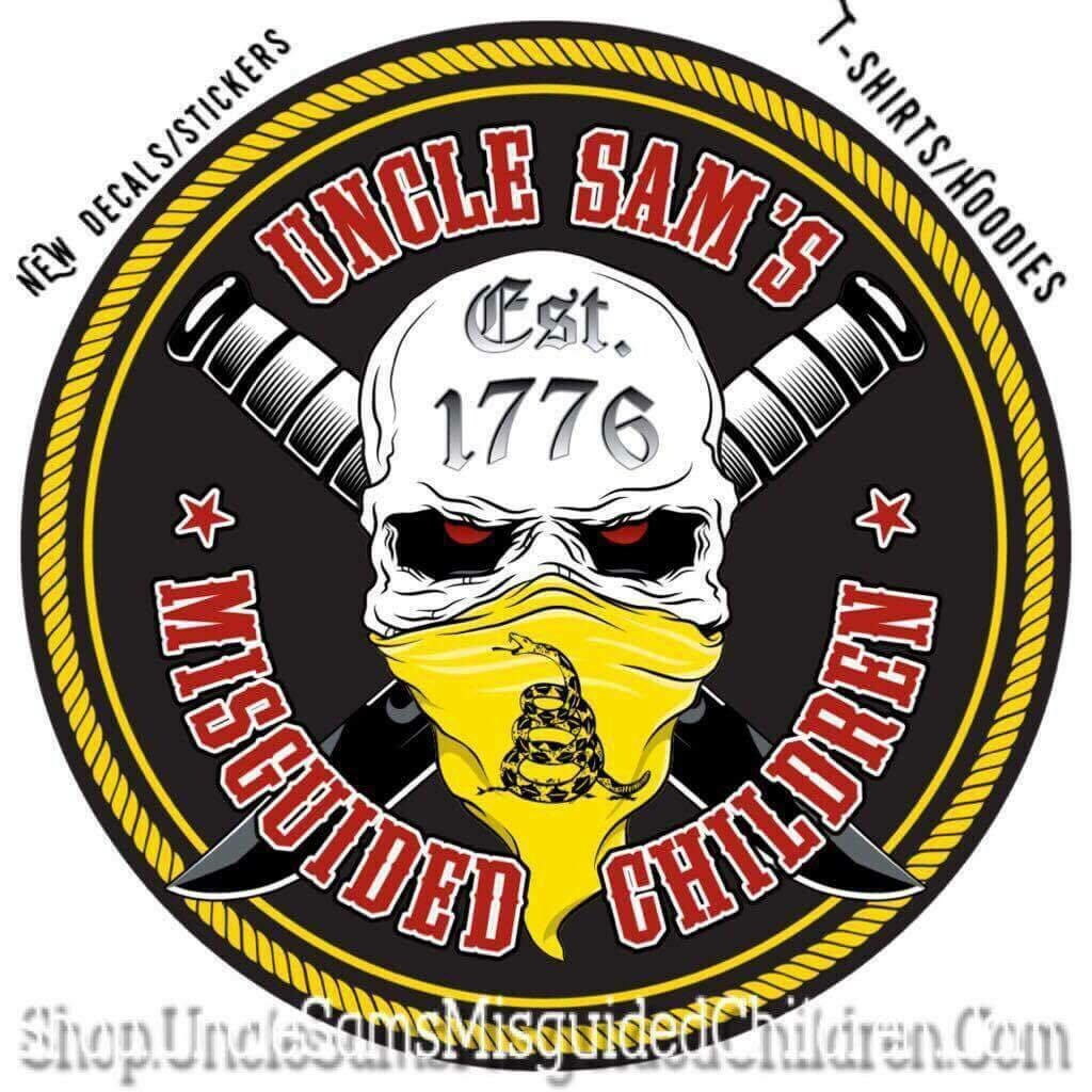 1776 Decal 5 x5 Inches