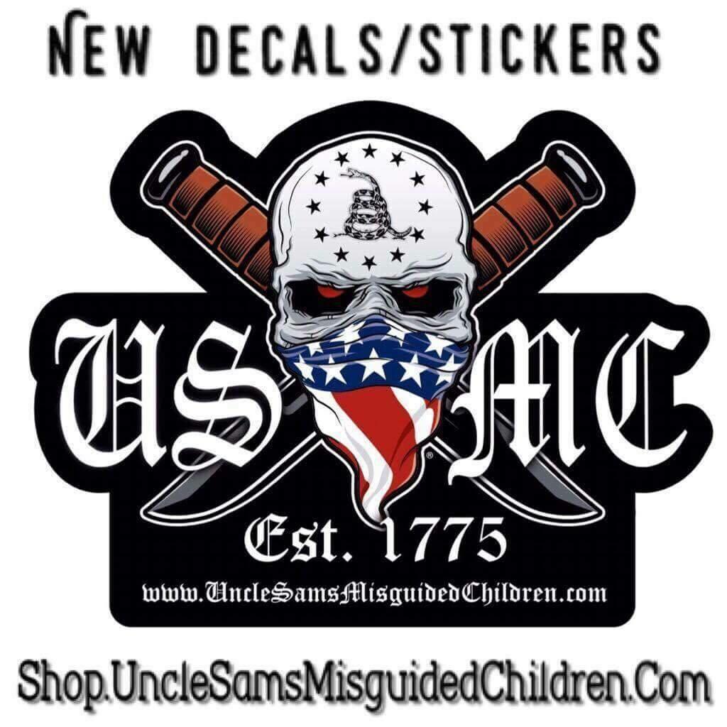 USMC EST1775 DECAL 5 x5 Inches