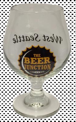 Beer Junction 10oz Belgian glass