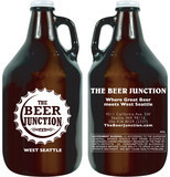 Beer Junction 64oz growler
