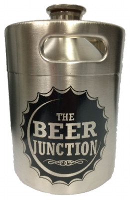 Beer Junction 64oz Stainless Steel