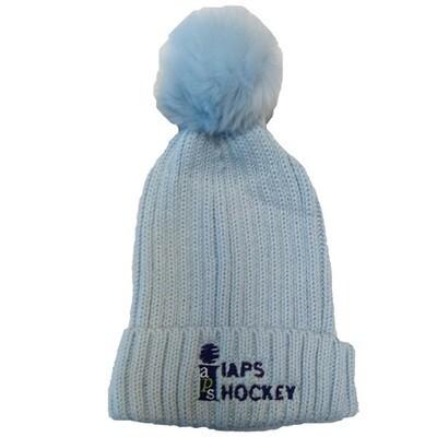 Bobble Hat - Pastel Blue