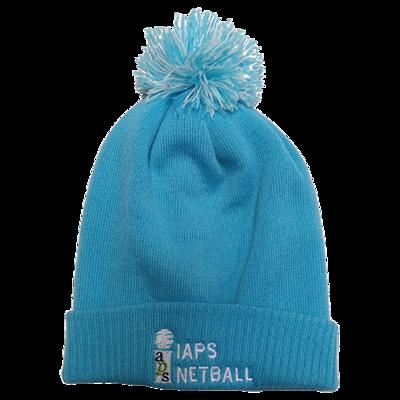 Bobble Hat - Surf Blue-White