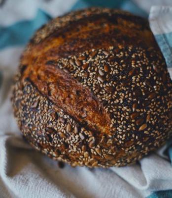 Three Seed Sourdough Loaf - Companion Bakery