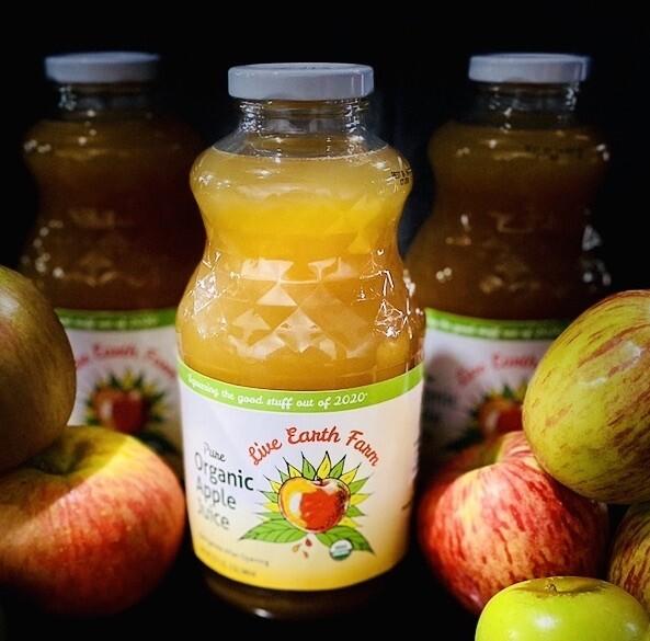 Apple Juice - Live Earth Farm