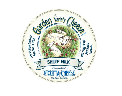 Sheep Milk Ricotta - Garden Variety (8 oz)