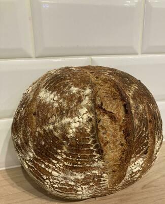 Pumpkin Seed Loaf - Companion Bakery