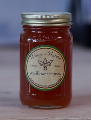 Wild Flower Honey - Wings of Nature (1 pint)