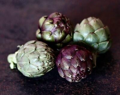Sicilian Purple Artichokes - Mariquita Farm (1lb)