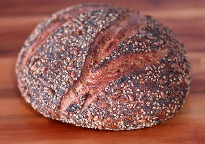 Flax Seed Loaf - Companion Bakery