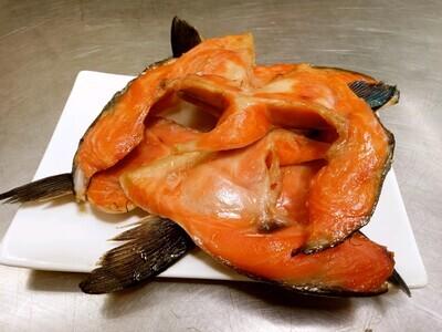 Smoked Chinook Salmon Collars (1 lb)