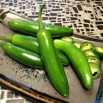 Serrano Peppers - Mariquita Farm (0.5 lb)