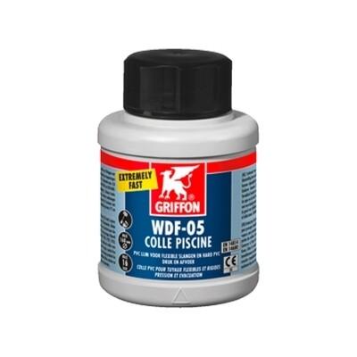 Griffon® WDF-05 250ml Dose Flexschlauch Klebstoff Besonders schneller, thixotroper PVC Klebstoff; speziell für Flexschläuche, mit Bürste