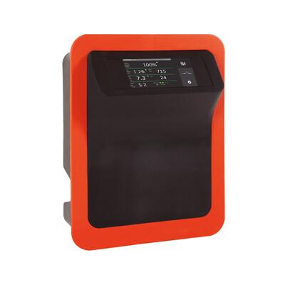 Smart Salzelektrolyseanlage PREMIUM-TOUCH-DOM 15g Cl/h selbstreinigende Zelle für private Pools bis 50m3 (Pumpenlaufzeit 8h)