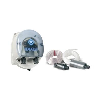 Zubehör Salzelektrolyseanlagen -> Salzelektrolyseanlage Dosierset + Transparenter Elektroden- und Injektorhalter + O-Ring für Salzelektrolyseanlagen + PE Elektrodenhalter für Salzelektrolyseanlagen