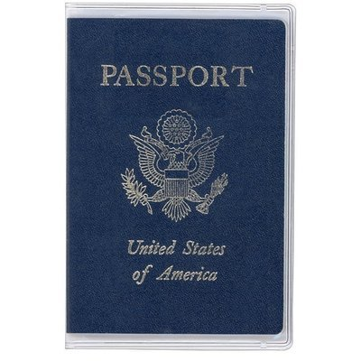 Clear Passport Cover